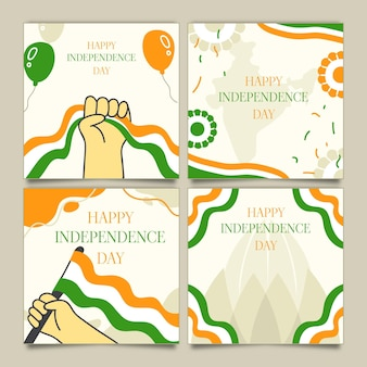 India independence day instagram posts collection