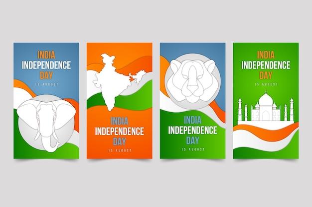 인도 독립 기념일 인스 타 그램 이야기 모음