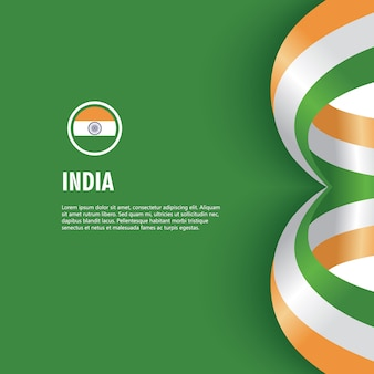 India independence day vector template design illustration