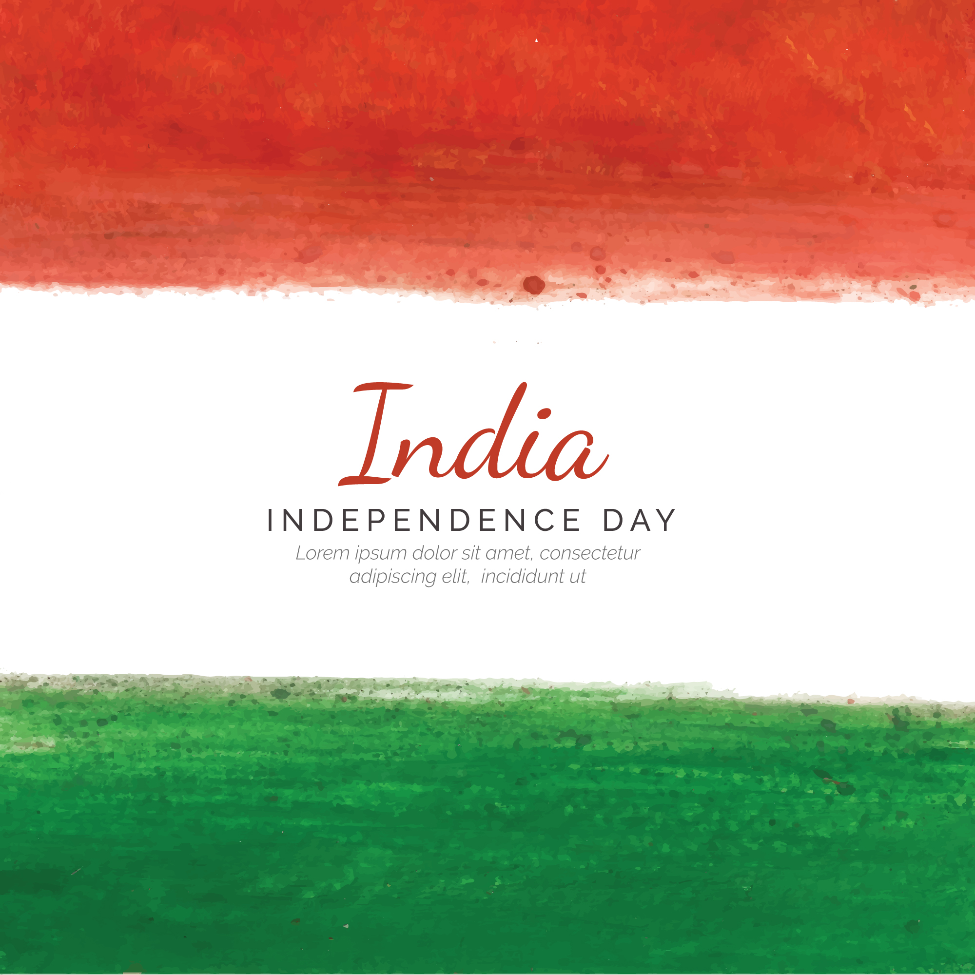India independende day background