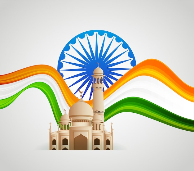 India patriotic emblems, independence day