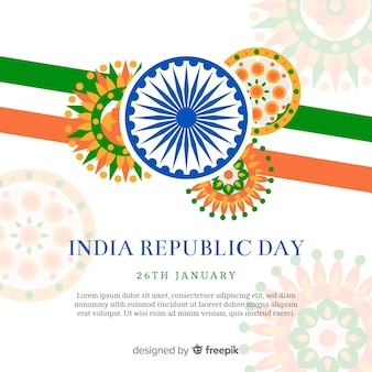 India republic day background