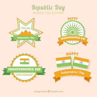 India republic day badge collection