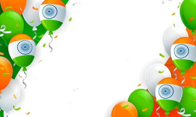 Indian balloons celebrations