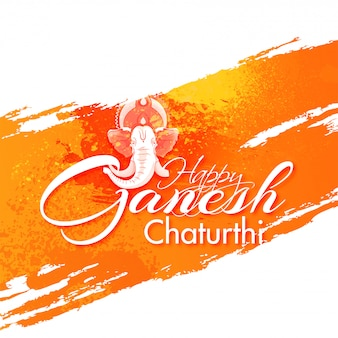Indian festival ganesh chaturthi background.