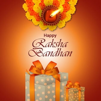 Индийский фестиваль счастливый ракшабандхан праздник фон