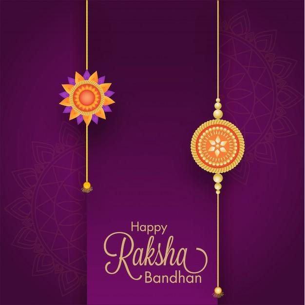 Indian festival raksha bandhan concept.