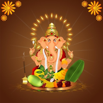 Indian festival with vector illustration for happy dhanteras celebration