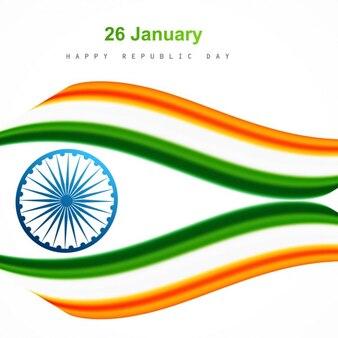 インドの旗の設計