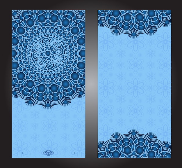 Indian floral paisley medallion pattern.