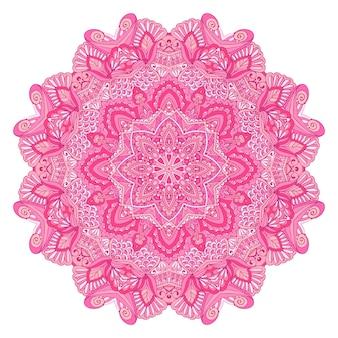 インドの花のペイズリー飾りエスニック曼荼羅フラワープリント