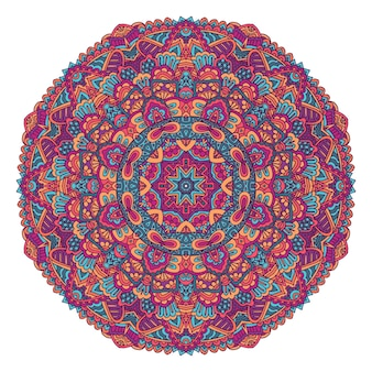 Индийский цветочный орнамент пейсли этническая мандала цветочный принт