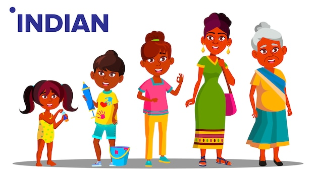 Indian generation female