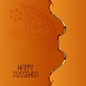 Indian happy dussehra festival