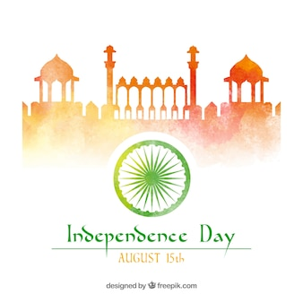 Indian independence day background