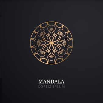 Indian mandala card