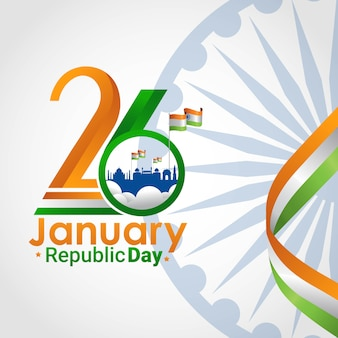 Indian republic day 26 january