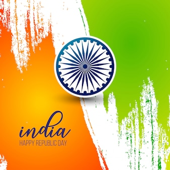 Indian republic day 26th january background