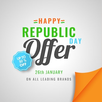 Indian republic day background.