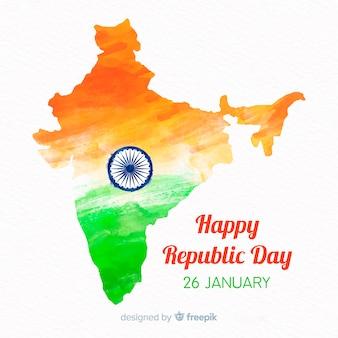 インド共和国の日背景