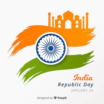 Indian republic day background