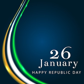 Indian republic day design