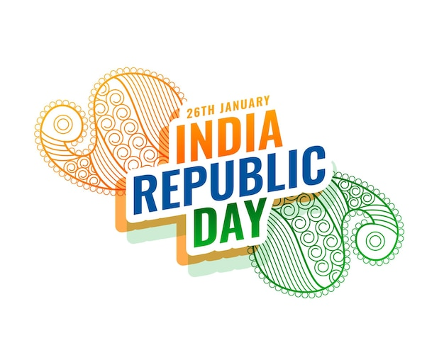 Indian republic day ethnic