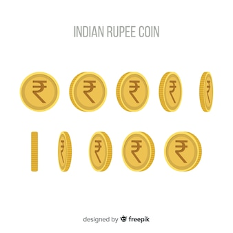 インドのルピーコインセット