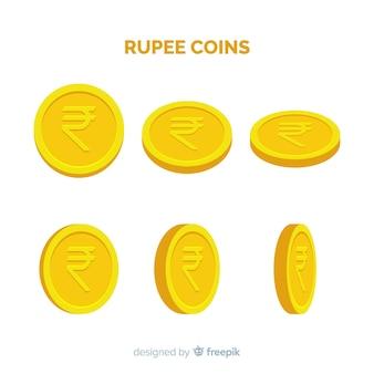 Monete rupia indiana