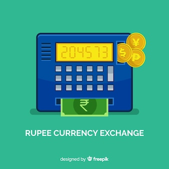 Indian rupee currency exchange