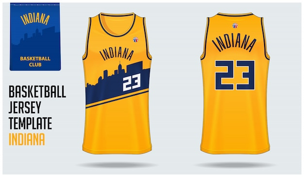 Indiana basketball jersey