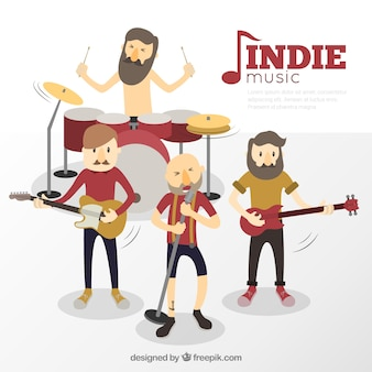 Indie music band