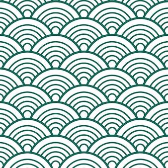 Indigo pattern background