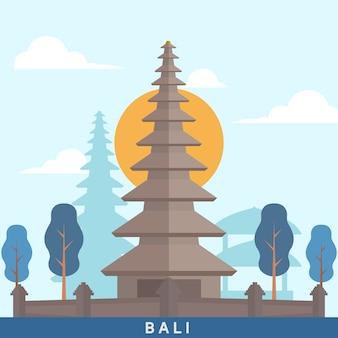 Indonesia bali landmark