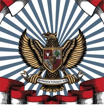 Indonesia independence day dirgahayu republik indonesia background