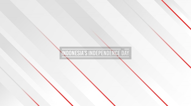 Indonesia's independence day background. abstract red and white background