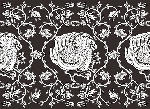 Indonesian batik motif,  special designs that are patterned