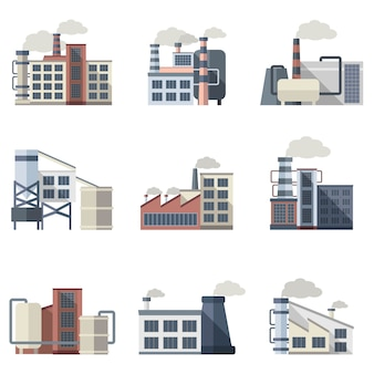 Industrial building set