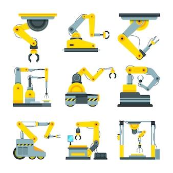 산업용 기계 손