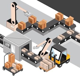 Доставка промышленного процесса