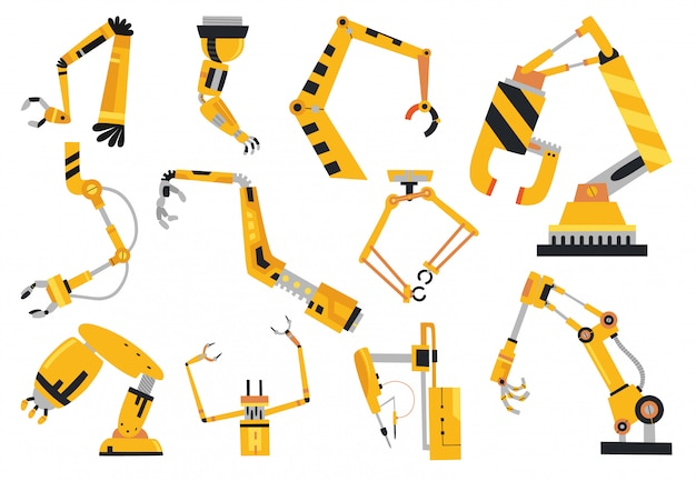 Industrial robotic arms manufacture technology