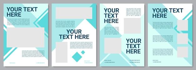 산업 서비스 현대 브로셔 템플릿입니다. 전단지, 소책자, 전단지 인쇄, 복사 공간이 있는 표지 디자인. 당신의 글은 여기에. 잡지, 연례 보고서, 광고 포스터용 벡터 레이아웃