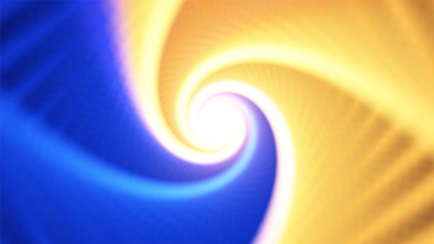 Infinite rhombic twisted colorful tunnel of shining flares