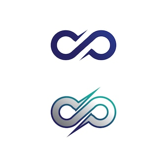 Infinity design logo and 8 icon, vector, sign, creative logo for business and corporate infinity symbol