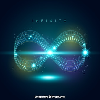 Infinity lens flare symbol