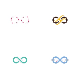 Набор логотипов infinity