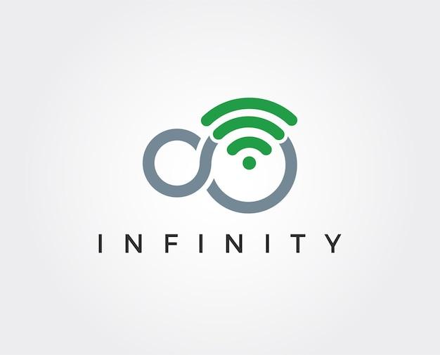 Бесконечность логотип шаблон
