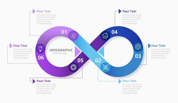 Бесконечный цикл инфографики