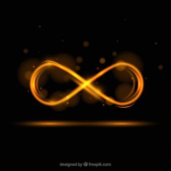 Символ вспышки объектива infinity