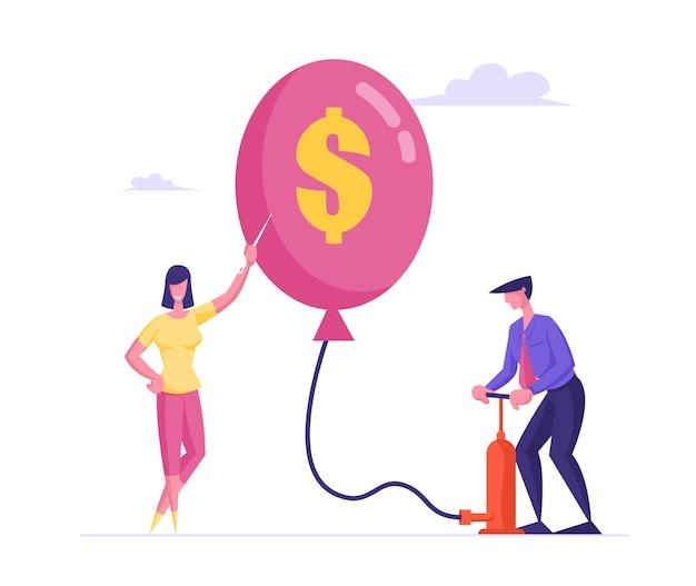 インフレ、経済または金融危機